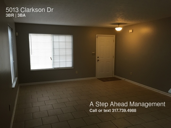 3 Bedrooms 2 Bathrooms House for rent at 5013 Clarkson Dr in Indianapolis, IN