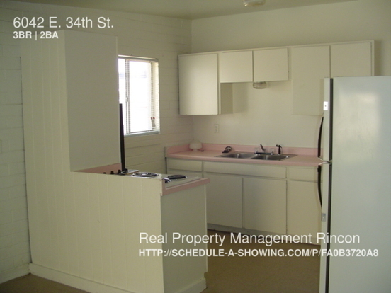 3 Bedrooms 2 Bathrooms House for rent at 6042 E. 34th St. in Tucson, AZ