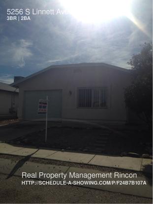 3 Bedrooms 2 Bathrooms House for rent at 5256 S Linnett Ave in Tucson, AZ