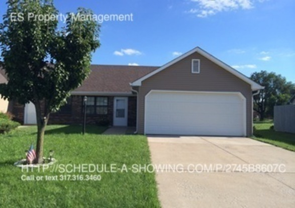 2 Bedrooms 2 Bathrooms House for rent at 27 Medina Lane in Indianapolis, IN