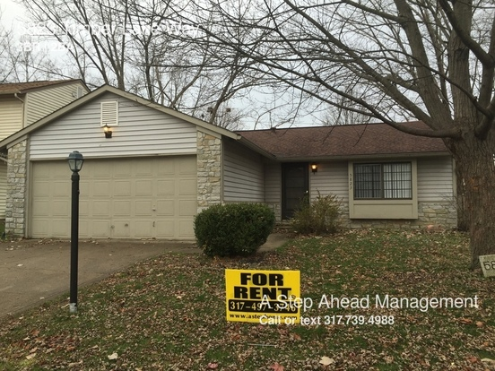 3 Bedrooms 1 Bathroom House for rent at 5823 Timber Lake Way in Indianapolis, IN