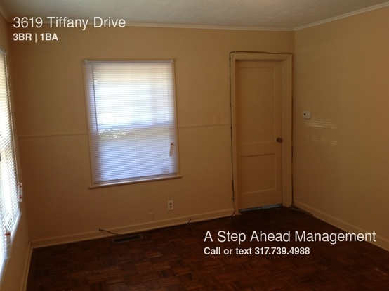 3 Bedrooms 1 Bathroom House for rent at 3619 Tiffany Drive in Indianapolis, IN