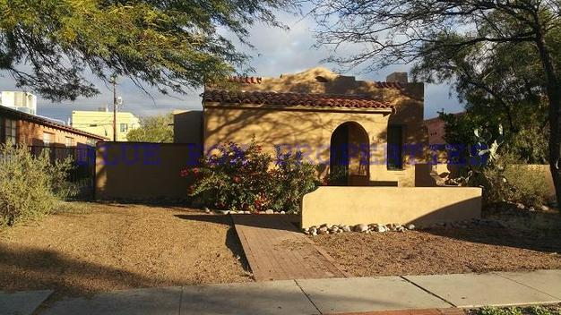 4 Bedrooms 3 Bathrooms House for rent at 2015 E. 2nd Street in Tucson, AZ