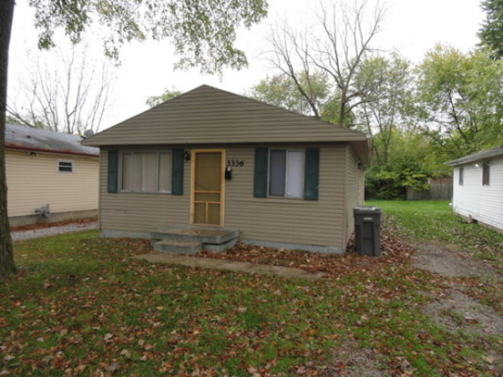 3 Bedrooms 1 Bathroom House for rent at 3336 N. Whittier Pl. in Indianapolis, IN