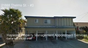 21888 Thelma St. Apartment for rent in Hayward, CA