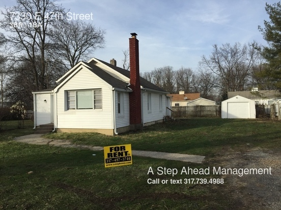 3 Bedrooms 1 Bathroom House for rent at 7330 E 47th Street in Indianapolis, IN