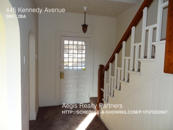 3 Bedrooms 2 Bathrooms House for rent at 445 Kennedy Avenue in Pittsburgh, PA