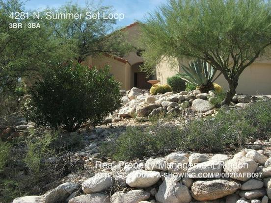3 Bedrooms 2 Bathrooms House for rent at 4281 N. Summer Set Loop in Tucson, AZ