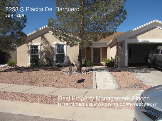3 Bedrooms 2 Bathrooms House for rent at 8258 S Placita Del Barquero in Tucson, AZ