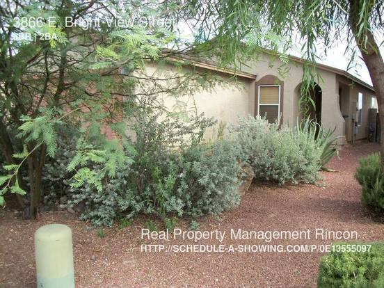 3 Bedrooms 2 Bathrooms House for rent at 3866 E. Bright View Street in Tucson, AZ