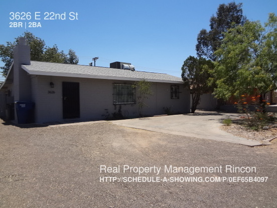 2 Bedrooms 1 Bathroom House for rent at 3626 E 22nd St in Tucson, AZ
