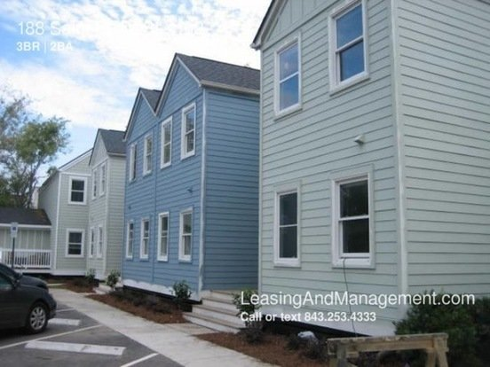 3 Bedrooms 2 Bathrooms House for rent at 188 Saint Philip St in Charleston, SC
