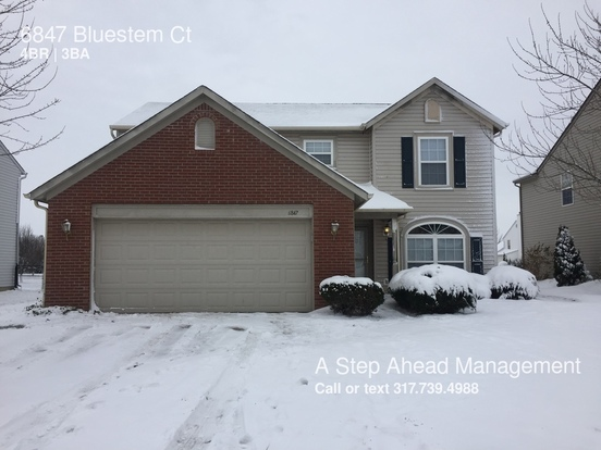 4 Bedrooms 2 Bathrooms House for rent at 6847 Bluestem Ct in Indianapolis, IN