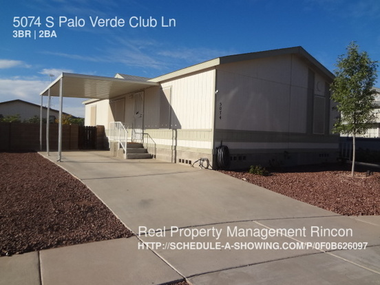 3 Bedrooms 2 Bathrooms House for rent at 5074 S Palo Verde Club Ln in Tucson, AZ