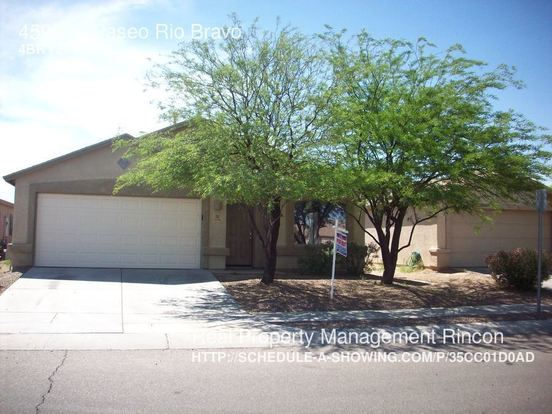4 Bedrooms 2 Bathrooms House for rent at 4590 S. Paseo Rio Bravo in Tucson, AZ