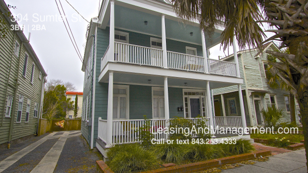3 Bedrooms 2 Bathrooms House for rent at 304 Sumter St in Charleston, SC