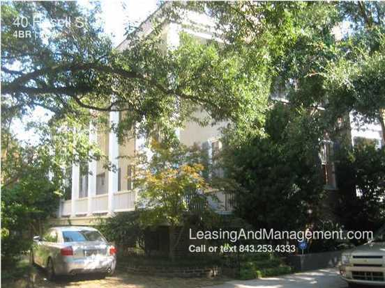 4 Bedrooms 2 Bathrooms House for rent at 40 Hasell St in Charleston, SC