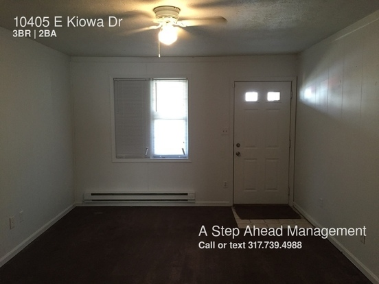 3 Bedrooms 1 Bathroom House for rent at 10405 E Kiowa Dr in Indianapolis, IN