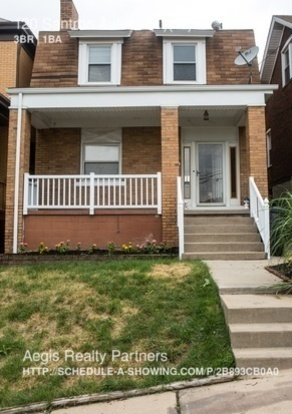 3 Bedrooms 1 Bathroom House for rent at 120 Santron Ave in Pittsburgh, PA