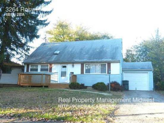 4 Bedrooms 2 Bathrooms House for rent at 3264 Roswell Dr. in Columbus, OH