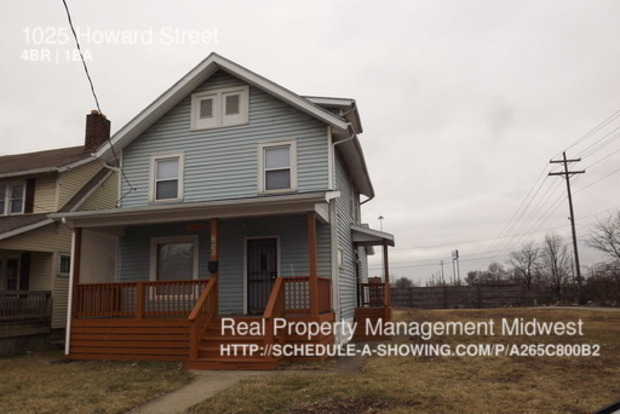 4 Bedrooms 1 Bathroom House for rent at 1025 Howard Street in Columbus, OH