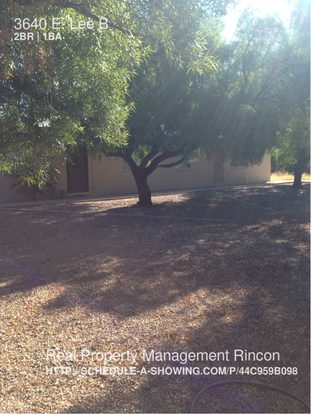 2 Bedrooms 1 Bathroom House for rent at 3640 E. Lee B in Tucson, AZ