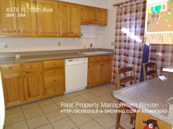 2 Bedrooms 2 Bathrooms House for rent at 4976 N. 15th Ave in Tucson, AZ
