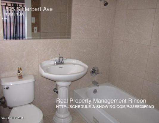 1 Bedroom 1 Bathroom House for rent at 525 S Herbert Ave in Tucson, AZ