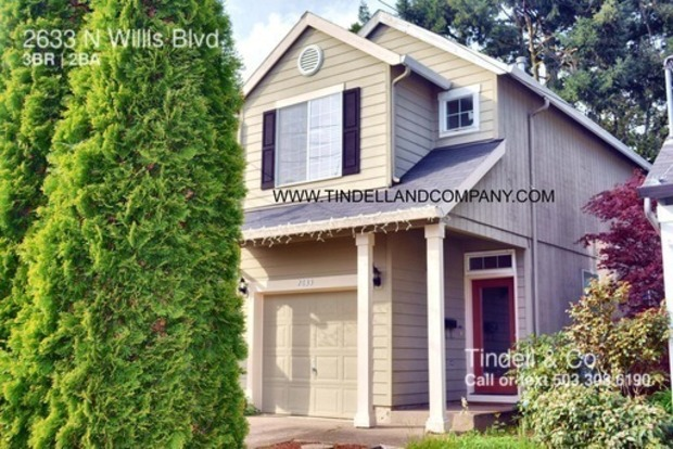 3 Bedrooms 2 Bathrooms House for rent at 2633 N Willis Blvd in Portland, OR