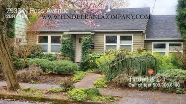 2 Bedrooms 1 Bathroom House for rent at 7933 N Foss Avenue in Portland, OR