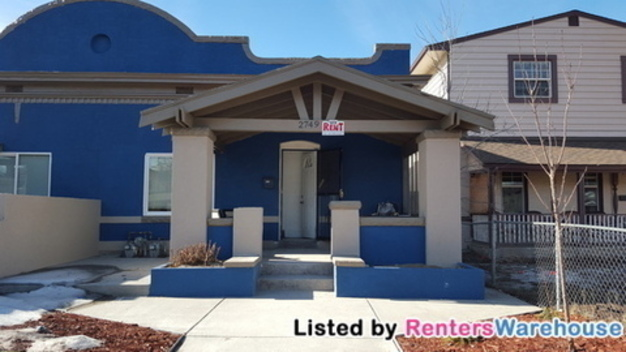 2 Bedrooms 2 Bathrooms House for rent at 2749 Eliot St in Denver, CO