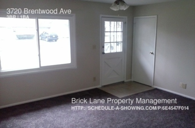 3 Bedrooms 1 Bathroom House for rent at 3720 Brentwood Ave in Indianapolis, IN