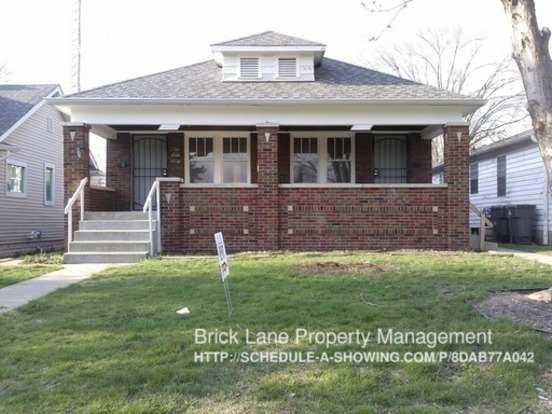 1 Bedroom 1 Bathroom House for rent at 4014 E. 11th St. in Indianapolis, IN