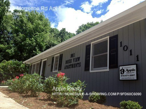 1 Bedroom 1 Bathroom House for rent at 1011 Morreene Rd in Durham, NC