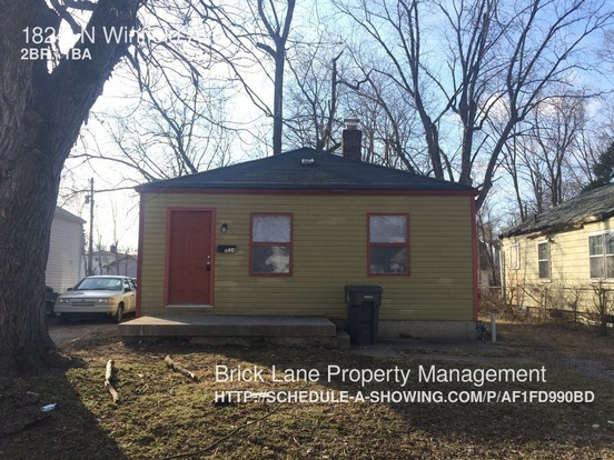 2 Bedrooms 1 Bathroom House for rent at 1824 N Winfield Ave in Indianapolis, IN