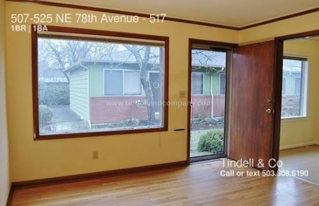 1 Bedroom 1 Bathroom House for rent at 507 525 Ne 78th Avenue in Portland, OR
