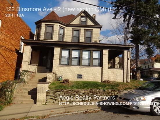 2 Bedrooms 1 Bathroom House for rent at 122 Dinsmore Ave in Pittsburgh, PA
