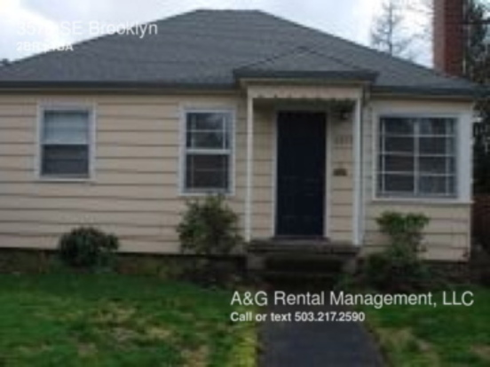 2 Bedrooms 1 Bathroom House for rent at 3578 Se Brooklyn in Portland, OR