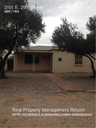 2 Bedrooms 1 Bathroom House for rent at 3101 E. 29th Street in Tucson, AZ