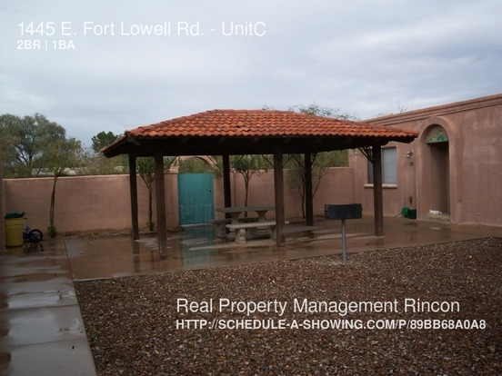 2 Bedrooms 1 Bathroom House for rent at 1445 E. Fort Lowell Rd. in Tucson, AZ
