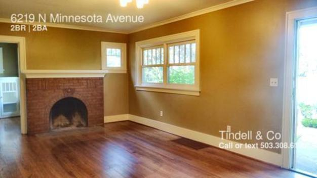 2 Bedrooms 2 Bathrooms House for rent at 6219 N Minnesota Avenue in Portland, OR