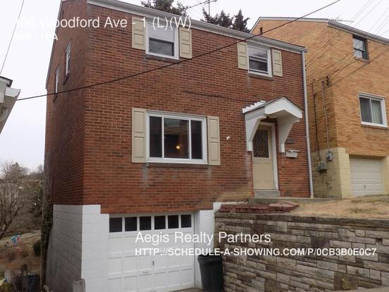 3 Bedrooms 1 Bathroom House for rent at 106 Woodford Ave in Pittsburgh, PA