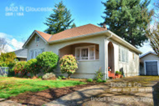 2 Bedrooms 1 Bathroom House for rent at 8402 N Gloucester Ave in Portland, OR