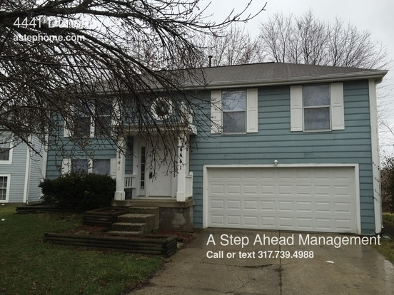 3 Bedrooms 2 Bathrooms House for rent at 4441 Dunsany Ct in Indianapolis, IN