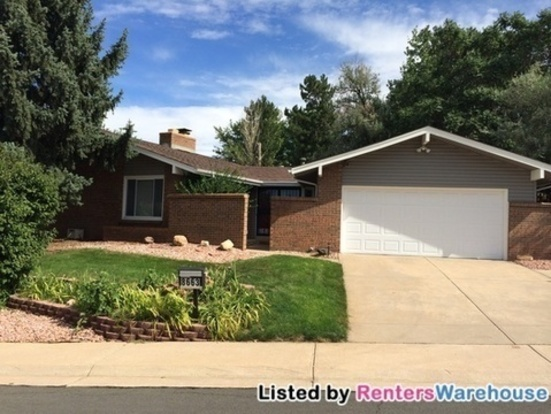 4 Bedrooms 3 Bathrooms House for rent at 8663 E Monmouth Pl in Denver, CO