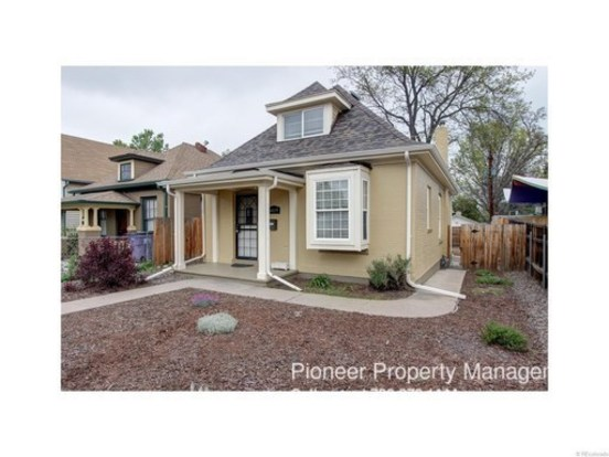 2 Bedrooms 1 Bathroom House for rent at 5019 W. 38th Ave. in Denver, CO