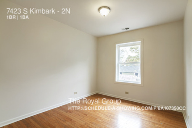 1 Bedroom 1 Bathroom House for rent at 7423 South Kimbark Avenue in Chicago, IL
