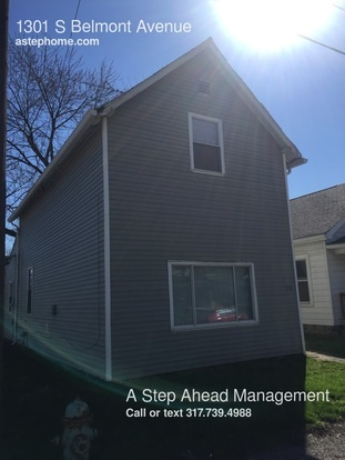 3 Bedrooms 2 Bathrooms House for rent at 1301 S Belmont Avenue in Indianapolis, IN