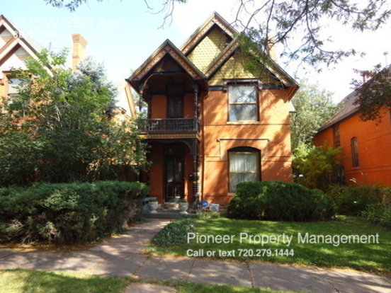 3 Bedrooms 2 Bathrooms House for rent at 2115 W. 28th Ave. in Denver, CO