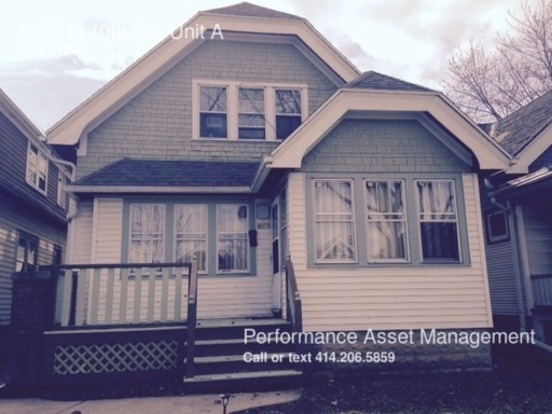 2 Bedrooms 1 Bathroom House for rent at 5439 N 40th St in Milwaukee, WI